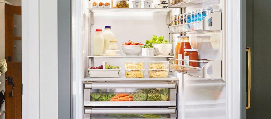จัดตู้เย็น